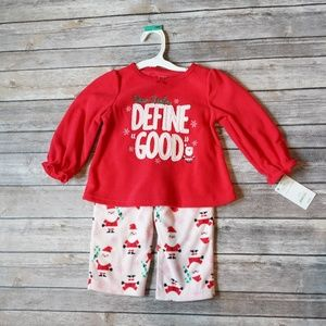 *NWT* Carter's 18 month 2-piece Christmas